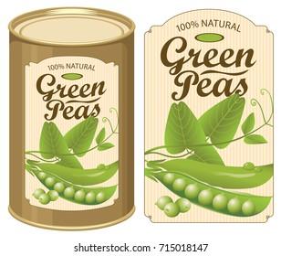 Peas Label Images, Stock Photos & Vectors | Shutterstock