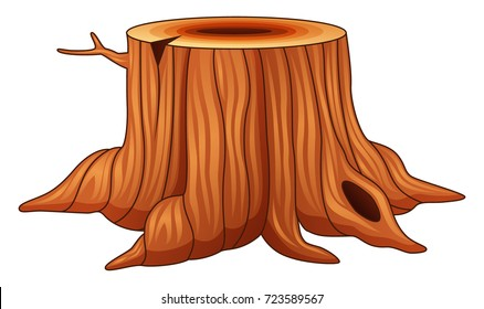 Tree Stump Cartoon Hd Stock Images Shutterstock After a tree has been cut and felled, the stump or tree stump is usually a small remaining portion of the here are the steps to draw cartoon tree stump. https www shutterstock com image vector vector illustration tree stump isolated on 723589567