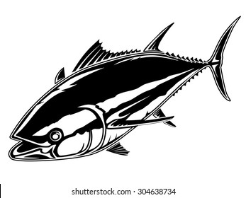 tail tuna images stock photos vectors shutterstock https www shutterstock com image vector vector illustration tuna fishing can be 304638734