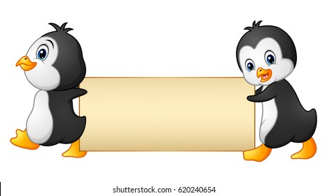 Two Bird Holding Banner Images Stock Photos Vectors Shutterstock