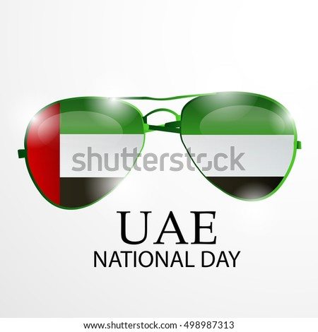 3b4831f43a0 Royalty-free stock vector images ID  498987313. Vector illustration of  United Arab Emirates Background for national day. - Vector