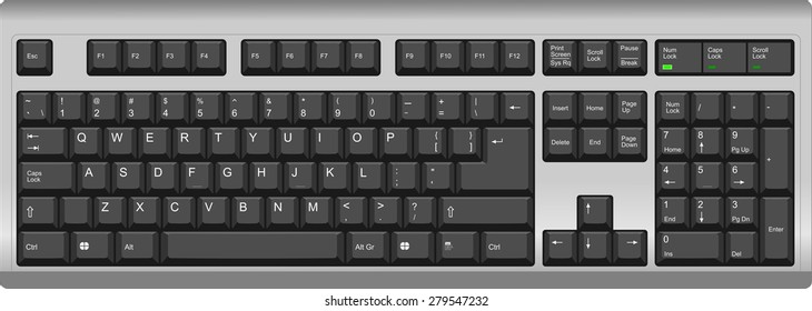 Keyboard ENGLISH