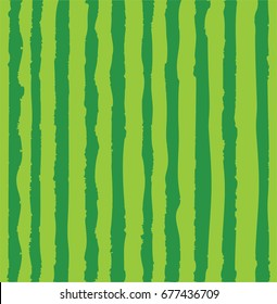 Vector illustration of watermelon realistic pattern. vector background of summer. food texture.