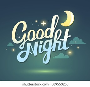 Good Night Images Stock Photos Vectors Shutterstock