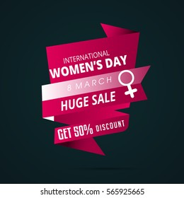 Vector illustration for women day 8 march