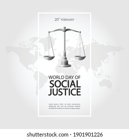 Vector Illustration of World Day of Social Justice