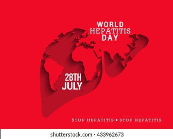 Vector illustration of World Hepatitis Day.