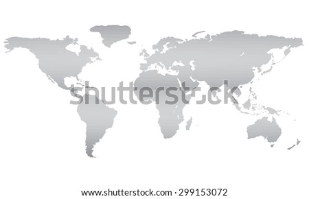 Vector illustration world map equator 3 d stock vector royalty free vector illustration of a world map equator 3d polygon isolated eps gumiabroncs Image collections