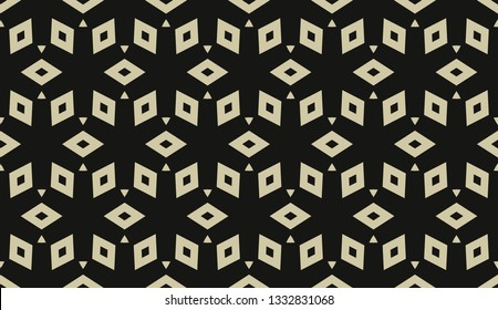 Vector illustration yellow geometric abstract background