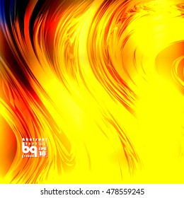 Vector illustration,fire space, glitch, background flash, abstract galaxy, sun