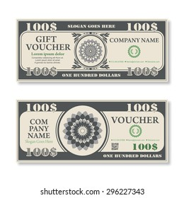 Dollars Template Images Stock Photos Vectors Shutterstock