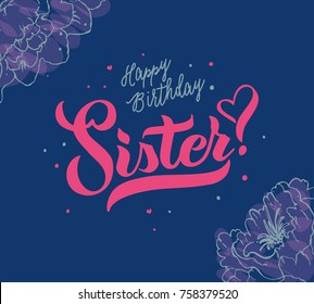 Happy Birthday Sister Images.Happy Birthday Sister Card Images Stock Photos Vectors