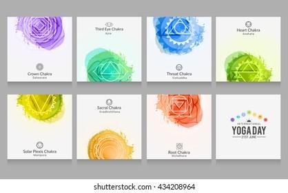 Vector illustration,poster,flyer or banner of international yoga day.