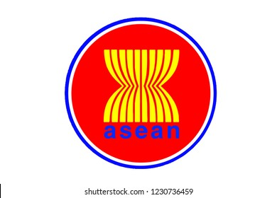 Vector illustrations of ASEAN countries.