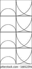 Vector Illustrations of Geometric Patterns