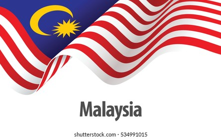 Vector Ilustration of Malaysia flag
