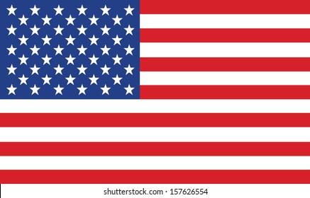 vektor bilde av amerikansk flagg