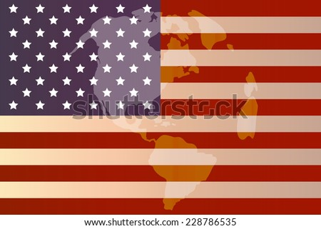 vector image american flag background stock vector royalty free