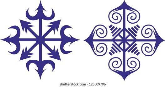 vector image / Chaos Star / symbol of chaos magic