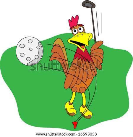 Vector Image en Slicing Golf Ball Stock Vector (Royalty Free ... on ice golf cartoons, large golf cartoons, drink golf cartoons,
