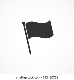 Vector image of flag icon.