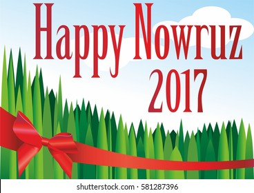 vector image of the Holiday Happy Nowruz, the Persian New year