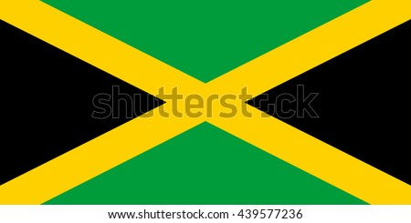 Vector image of Jamaica