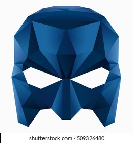 Vector image of mask on white background