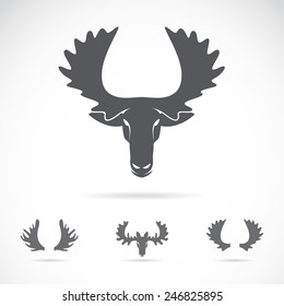 Moose Antlers Images Stock Photos Vectors Shutterstock