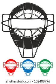 Catchers Mask Images Stock Photos Vectors Shutterstock