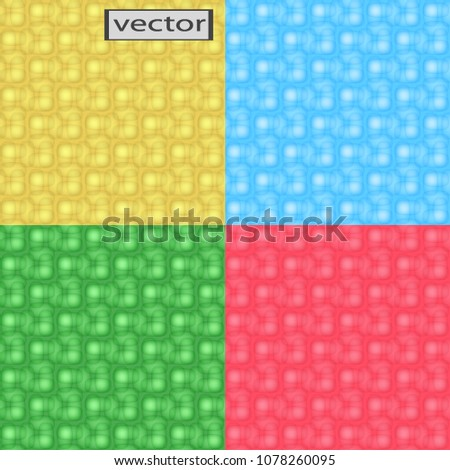 Vector Image Seamless Weave Pattern Light Stock Vector Royalty Free