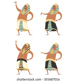 Vector image of the Set of Pharaons