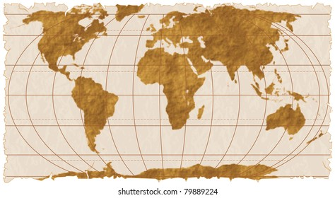 Ancient World Map Images Stock Photos Vectors Shutterstock