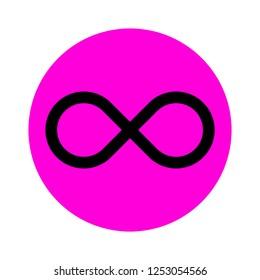 vector infinity icon