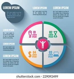 Vector infografics