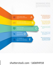 Vector infographic composition.