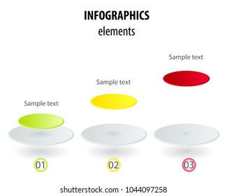 Vector infographic template with 3D paper label,integrated circles. Business concept with options.For content, diagram,flowchart,steps,parts,timeline infographics, workflow layout, chart.Isolated