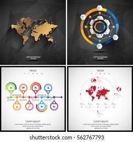 Vector of infographics