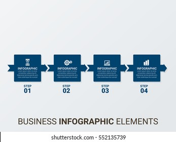 Vector infographics. Collection of templates, graph, presentation and round chart. Business concept with options, parts, steps or processes.