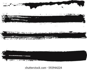 Vector Ink brush strokes