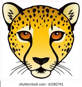 cheetah running stock illustrations images vectors shutterstock rh shutterstock com Cheetah Running Cartoon Cheetah Running Fast Clip Art