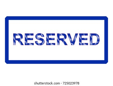 Vector inscription is reserved