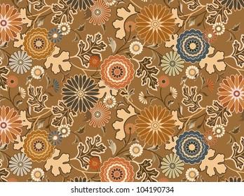 vector interpretation of traditional Japanese kimono pattern