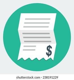 Vector Invoice Icon