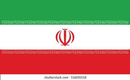 Vector Iran flag, Iran flag illustration, Iran flag picture, Iran flag image,