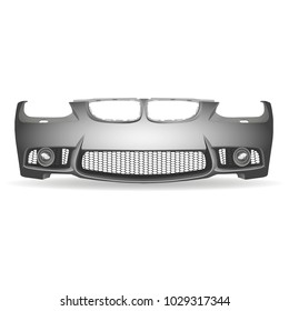 Vector isolated bumper