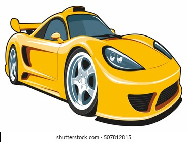Auto Body Shops >> Car Cartoon Images, Stock Photos & Vectors | Shutterstock