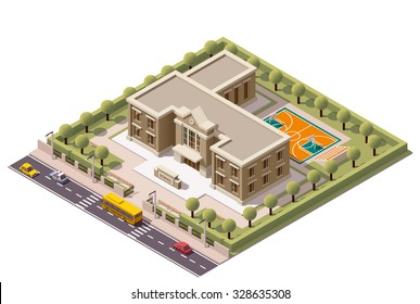 Elementary School Building Images, Stock Photos & Vectors ...