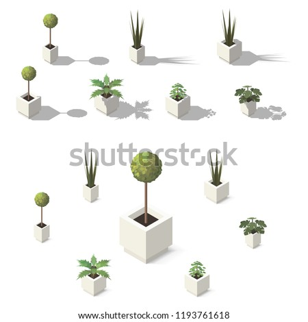 Indoor home office plants royalty Houseplants Indoor Vector Isometric Office Plants Indoor House Plants Set For Interior Decor Shutterstock Vector Isometric Office Plants Indoor House Stock Vector royalty