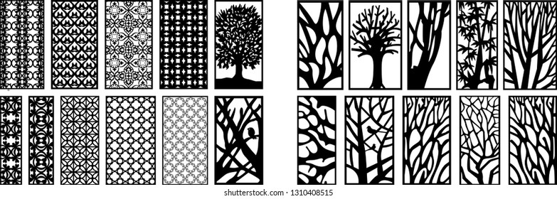 vector jali design for graphics for graphic and plywood partition foam, acrylic and cnc machine cutting.